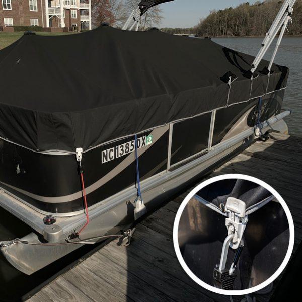boat using easyklip clips